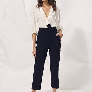 NWT Aritzia Wilfred tie-front pants